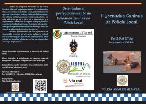 II Jornadas UCAN Vila-real 2014 Portada.